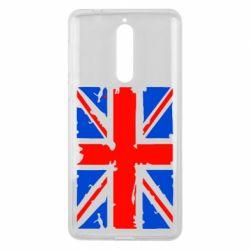 Чехол для Nokia 8 Британский флаг - FatLine