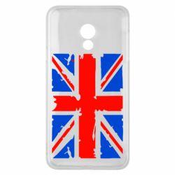 Чехол для Meizu 15 Lite Британский флаг - FatLine