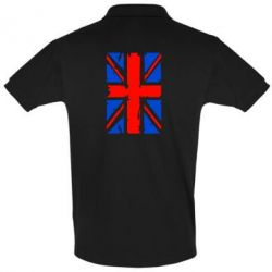 Футболка Поло Британский флаг - FatLine