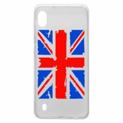 Чехол для Samsung A10 Британский флаг