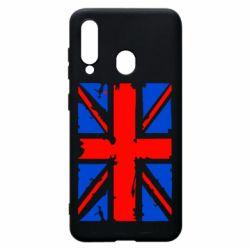 Чехол для Samsung A60 Британский флаг