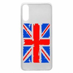 Чехол для Samsung A70 Британский флаг