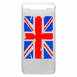 Чехол для Samsung A80 Британский флаг