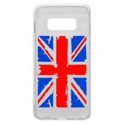 Чехол для Samsung S10e Британский флаг