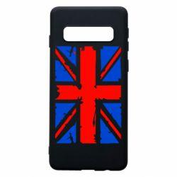 Чехол для Samsung S10 Британский флаг