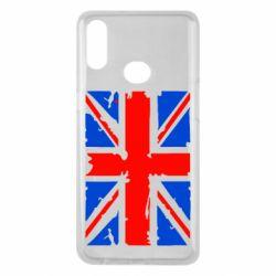 Чехол для Samsung A10s Британский флаг