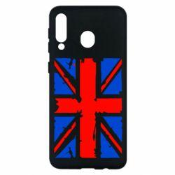 Чехол для Samsung M30 Британский флаг