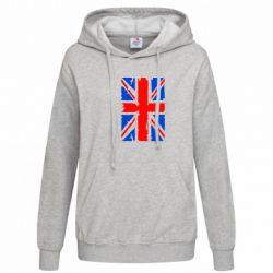 Женская толстовка Британский флаг - FatLine