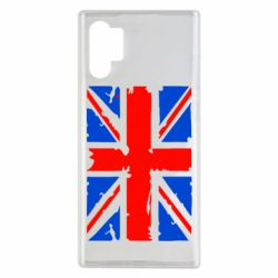 Чехол для Samsung Note 10 Plus Британский флаг