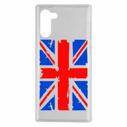 Чехол для Samsung Note 10 Британский флаг