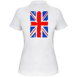 Женская футболка поло Британский флаг - FatLine