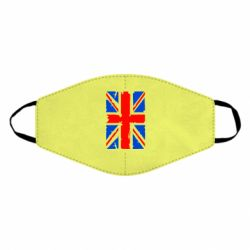 Маска для лица Британский флаг
