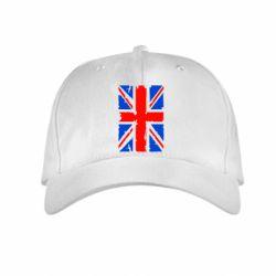 Детская кепка Британский флаг - FatLine