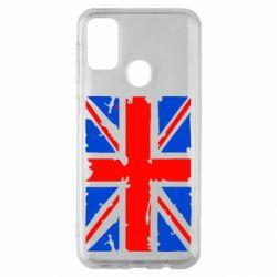 Чехол для Samsung M30s Британский флаг