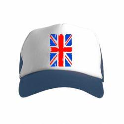 Детская кепка-тракер Британский флаг