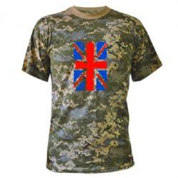 Камуфляжная футболка Британский флаг - FatLine