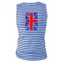 Майка-тельняшка Британский флаг