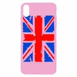 Чехол для iPhone X/Xs Британский флаг