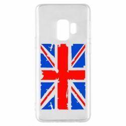 Чехол для Samsung S9 Британский флаг