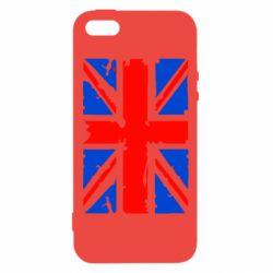Чехол для iPhone5/5S/SE Британский флаг