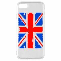 Чехол для iPhone 7 Британский флаг