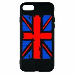 Чехол для iPhone 8 Британский флаг