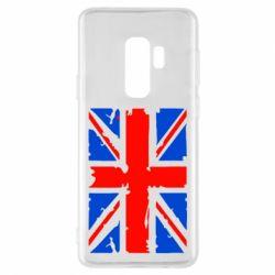 Чехол для Samsung S9+ Британский флаг