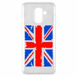 Купить Страны, Чехол для Samsung A6+ 2018 Британский флаг, FatLine