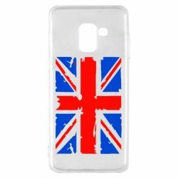 Чехол для Samsung A8 2018 Британский флаг