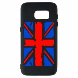 Чехол для Samsung S7 Британский флаг