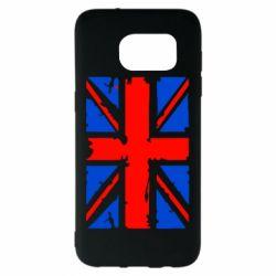 Чехол для Samsung S7 EDGE Британский флаг