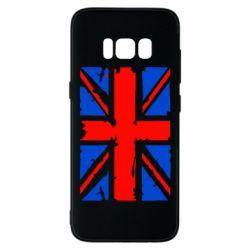 Чехол для Samsung S8 Британский флаг