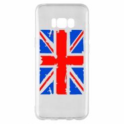 Чехол для Samsung S8+ Британский флаг