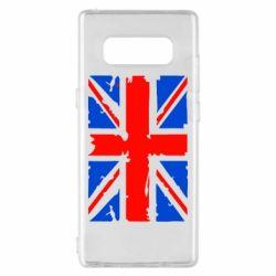 Чехол для Samsung Note 8 Британский флаг