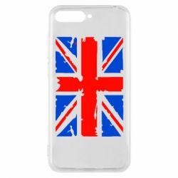 Чехол для Huawei Y6 2018 Британский флаг - FatLine