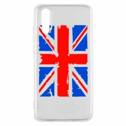 Чехол для Huawei P20 Британский флаг - FatLine