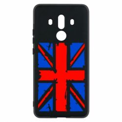 Чехол для Huawei Mate 10 Pro Британский флаг - FatLine