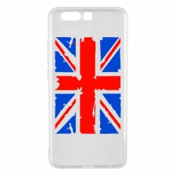 Чехол для Huawei P10 Plus Британский флаг - FatLine