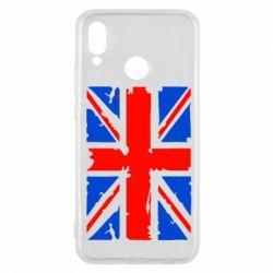 Чехол для Huawei P20 Lite Британский флаг - FatLine