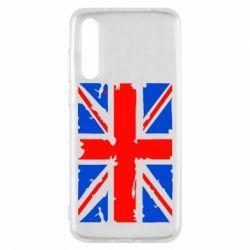 Чехол для Huawei P20 Pro Британский флаг - FatLine