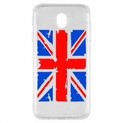 Чехол для Samsung J7 2017 Британский флаг
