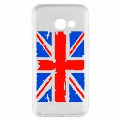 Купить Страны, Чехол для Samsung A3 2017 Британский флаг, FatLine