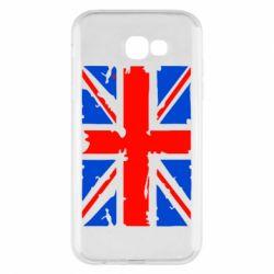 Чехол для Samsung A7 2017 Британский флаг