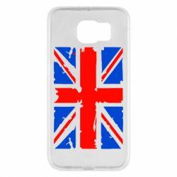 Чехол для Samsung S6 Британский флаг