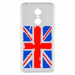 Чехол для Xiaomi Redmi 5 Британский флаг - FatLine