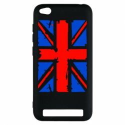 Чехол для Xiaomi Redmi 5a Британский флаг - FatLine