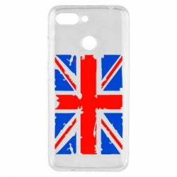Чехол для Xiaomi Redmi 6 Британский флаг - FatLine