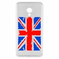 Чехол для Meizu M5 Британский флаг - FatLine