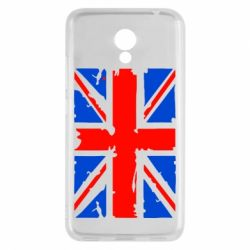 Чехол для Meizu M5c Британский флаг - FatLine