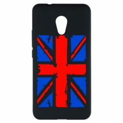Чехол для Meizu M5s Британский флаг - FatLine